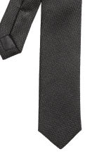 Textured tie - Black - Men | H&M CN 3